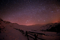 Star Hunting At Loveland Pass (Mike Berenson - Colorado Captures) Tags: sky mountains nature night dark stars photography nikon fisheye orion astronomy taurus gemini constellations allrightsreserved lovelandpass milkyway d300 canis auriga coloradocaptures 2010mikeberenson