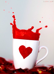 Cup Of Love III (7LM) Tags: red cup heart reos 7lm xx7lmxx