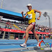 Jose Arteaga de Ecuador en la Final de Marcha 20 km Hombres