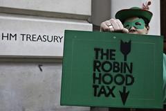 Un activista de la Robin Hood Tax