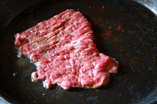 Steak w/ Mole