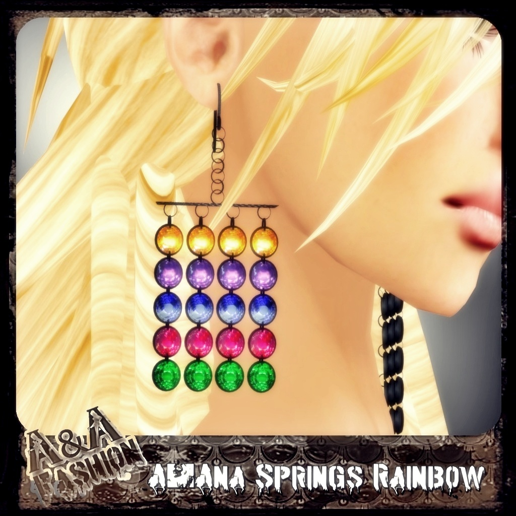 A&Ana Rainbow Spring Earrings