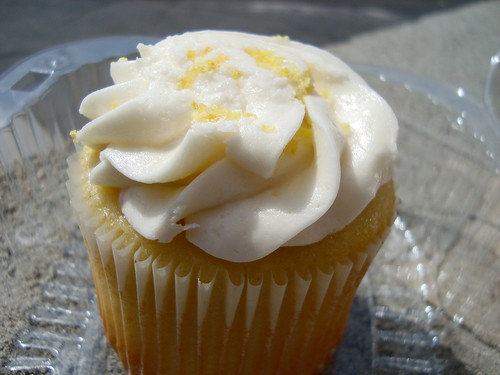 Lemon Zest Cupcake @ Big Man Bakes