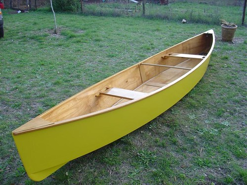Quick Canoe - precut plywood kit with all timber