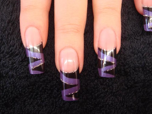 Deep Purple Tiger Stripes 2