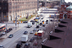 Lake Shore Blvd W & Bathurst (Sameer Makwana) Tags: toronto cars traffic fineart police intersection policeman streetcars tiltshiftfake tiltshiftminiaturefakes streetmodel miniaturefaking canon5dmkii lakeshorebathurst