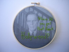 Arsenic and Old Lace Embroidery