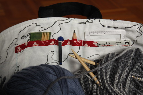 Knitting Bag Pocket #1