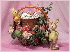 The Easter Still Life #4 (panga_ua) Tags: stilllife bunny composition canon easter spring availablelight ukraine christian celebration mysterious mauve colored drape boiled easterbunny resurrection eastereggs rivne easterbasket eastercake brightly paintedeggs decoratedeggs canonpowershotg10 easterinukraine