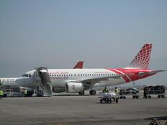 Bahrain Air Airbus Kathmandu (orclimber) Tags: plane airplane bahrain airport air ktm airbus kathmandu