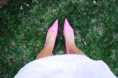 pink easter shoes