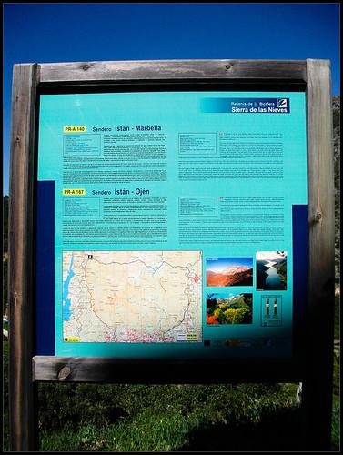 Mapa Senderismo Istán