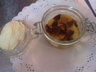 tarte aux pommes déstructurée