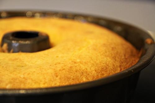 blackberry lemon cake cooked