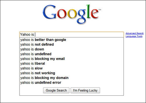 Yahoo is ...