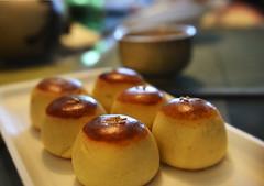 Kuri-manju (Kim Yokota) Tags: dessert japanese sweet manju anko kurimanju