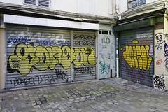 Gorgon - ? (Ruepestre) Tags: gorg gorgon manx faki solve trane howok dex ild agile ts paris art streetart street graffiti graffitis france parisgraffiti urbain urbanexploration urban