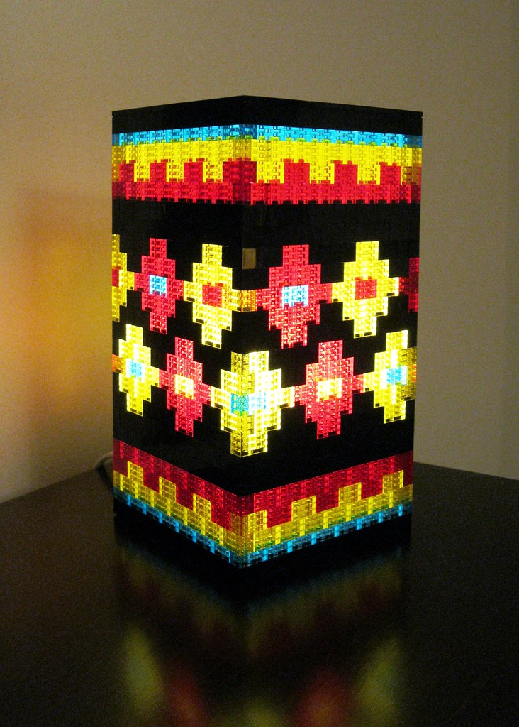 The worlds best photos of lantern and lego flickr hive mind lego lamp kdweezer tags lego table lamp electric mosaic clear translucent transparent black aloadofball Choice Image