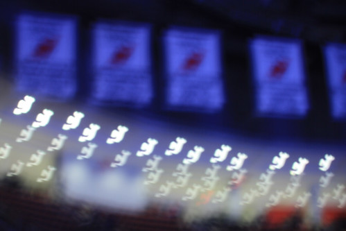 Devils Bokeh with Banners