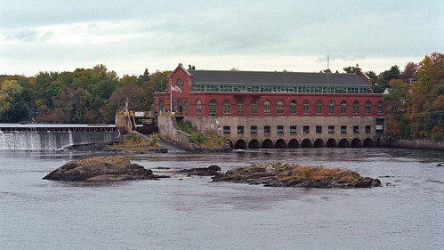 on the Penobscot River.
