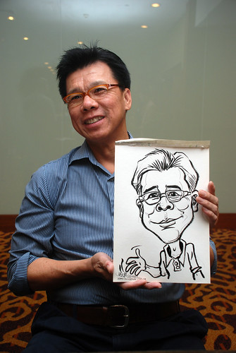 Caricature live sketching for Rheen Manufacturing Company (Singapore) Pte Ltd  - 9