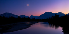 Glacier - Moonrise (Jesse Estes) Tags: moonrise glaciernationalpark 1635ii jesseestesphotography