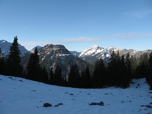 Vorderberg und Soiernspitze