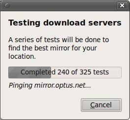 Screenshot-testing-download-servers
