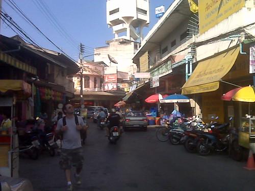 Chiang Mai fabric market