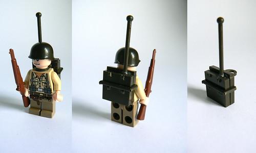 Custom WWII Radio minifig