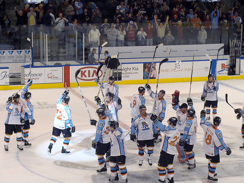 hockey salute