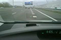 De Heads Up display van de nieuwe #Prius geeft ook route-informatie weer