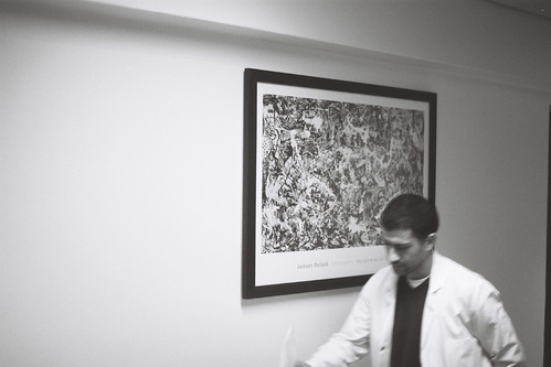 Quand le temps s'arrête : jackson pollock in the hospital