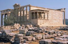 Erechtheion (angelsgermain) Tags: archaeology temple god columns athens greece porch hero marble acropolis athena poseidon caryatids polis godess maidens greekart erechtheus greekreligion ionicstyle