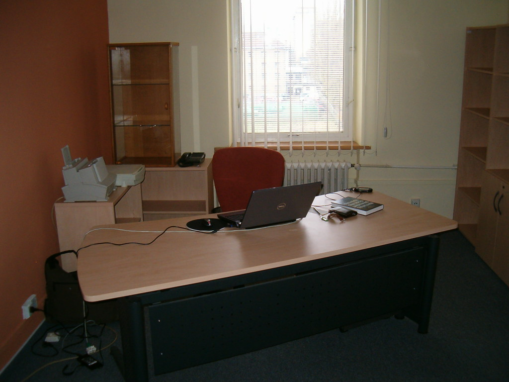 My temporary office at TU Kosice (11/2009)