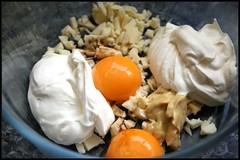 4124524721 06548d7f9e m Welsh Rarebit sur brioche toastée   Salade domelette et bresaola