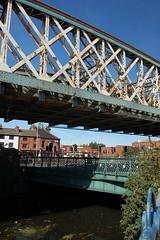 Bridges (Sam Tait) Tags: city bridge river leicester pump tap demolished soar bowstring bowstrig