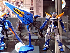 AFA09 (nighteye) Tags: blue mg revise frame second gundam 2009 bandai 1100 astray animefestivalasia afa09 mbfp03r gundamseedvsastray