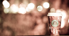Wish ! Hope ! Starbucks Makes your Day Better ! (Nas t) Tags: macro starbucks