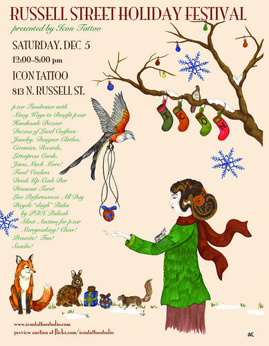 ICON TATTOO STUDIOS PRESENTS FIRST ANNUAL RUSSELL STREET HOLIDAY FESTIVAL