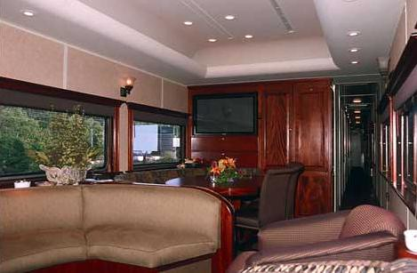 Private Rail Cars - Northern Dreams - lounge area