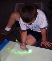 glow in the dark drawings (nadineOREGONallen) Tags: boy oregon pen project intense drawing glowinthedark northbend vacationbibleschool nadineandkathleen nadineoregonallen