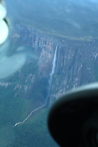 Aproaching Angel Falls