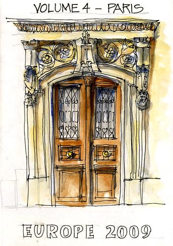 My Paris sketchbook...