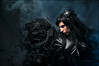 One Crow for Sorrow - Day 96/365 (Von Wong) Tags: portrait woman darkness fade crow vonwong