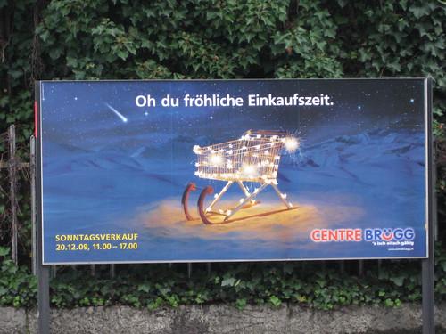 Centre Brügg: Oh Du fröhliche Einkaufszeit