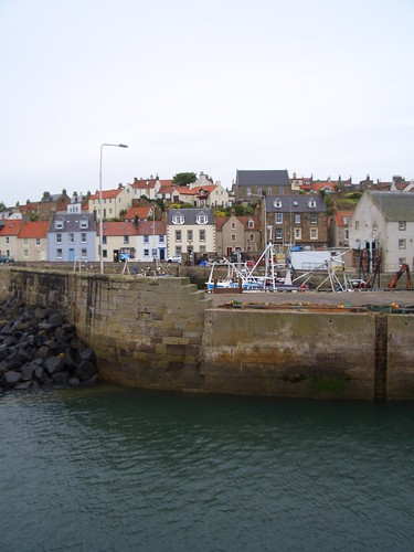 Pittenweem, Scotland Town View