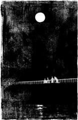 Tatsuro Kiuchi on Ape on the Moon (moonape) Tags: art illustration digital japanese tokyo screenprint artist contemporaryart style prints illustrator interview kiuchi contemporaryillustration tatsurokiuchi modernillustration alexmathers apeonthemoon moonape
