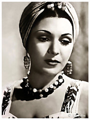 Taheya Carioca, The World's Most Famous Egyptian Dancer, During a Festival in Bucharest on Nov 11, 1953 (Tulipe Noire) Tags: africa festival egypt middleeast dancer belly 1950s romania egyptian bucharest carioca 1953 taheya