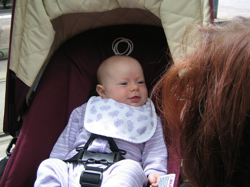 Anna in the Bugaboo